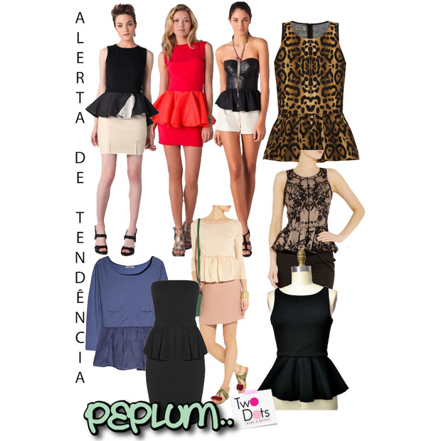 Tend�ncia do Peplum