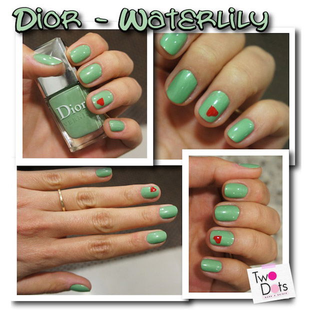 Dior, e a cor � Waterlily